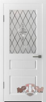 Двери окрашенные белой эмалью