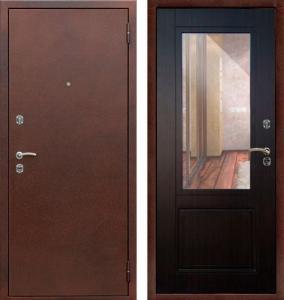 """Сейф-дверь Берлога """"Гала (ларче светлый)"""" / Венге"""